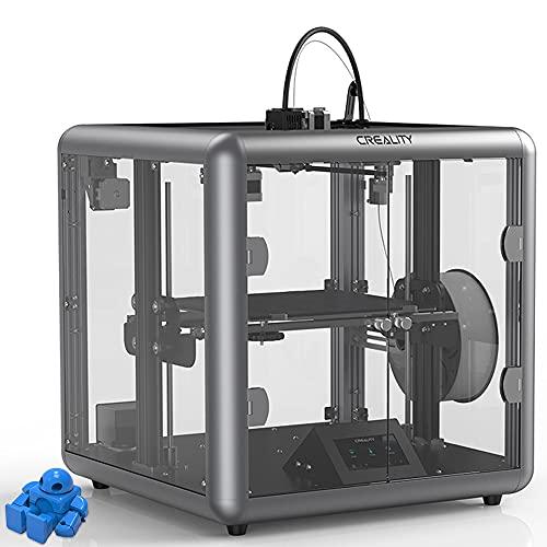 Creealidad Oficial Sermoon D1 Impresora 3D con La Mejora Mapinario Silent Todo El Marco del Extrusor De Metal Nuevo Diseño De Cuerpo Transparente con La Función De Impresión De Recuperación Construir
