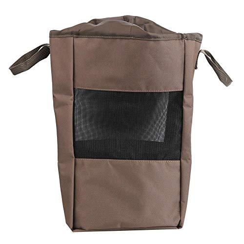 Keenso Bolsa de vadeo de Pesca, Bolsa de Pesca portátil Bota de Zapato de Malla ventilada Bolsa de Tela Oxford Transpirable al Aire Libre(Outdoor Hunting Fishing Shoe Bag)