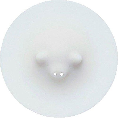 Marna White Piggy Steamer, 8-1/2'