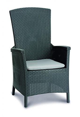Best Relaxstoel Capri, grafiet/lichtgrijs