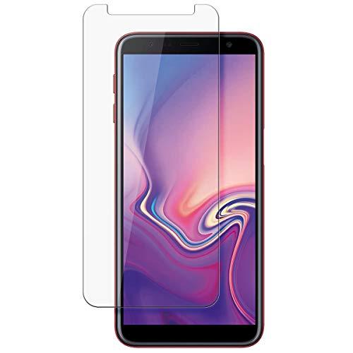 disGuard Schutzfolie für Samsung Galaxy J4+ [2 Stück] Kristall-Klar, Bildschirmschutzfolie, Glasfolie, Panzerglas-Folie, Bildschirmschutz, extrem Kratzfest, Schutz vor Kratzer, transparent