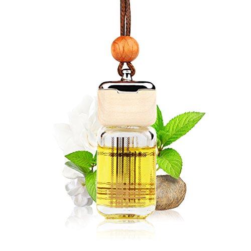L J Auto Lufterfrischer, Autoduft, original französisches Parfumöl hergestellt bei Mane®, Auto Zubehör, Auto Duft, Leichter Duft fürs Auto, Hängefläschchen im Fahrzeug, Raumduft, 10ml (G-1222)