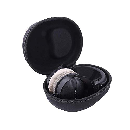 Aenllosi Hard Carrying Case Replacement for Beyerdynamic DT PRO 770 32/80/250 Ohm Over-Ear Studio Headphones (Black)