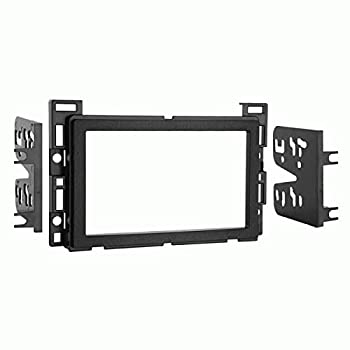 Carxtc Double Din Install Car Stereo Dash Kit for a Aftermarket Radio Fits 2006-2011 Chevy HHR Trim Bezel is Painted Matte Black T