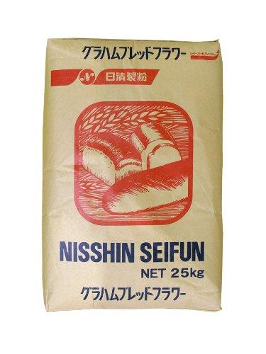 日清製粉 グラハムブレッドフラワー 小麦全粒粉 強力タイプ 25kg 業務用