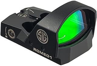 Sig Sauer Romeo1 1x30mm 6 Moa Reflex Red Dot Sight SOR11600 (Renewed)