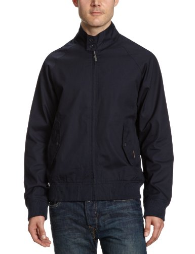 Ben Sherman Classic Harrington Jacket Mod Retro Navy [Small]
