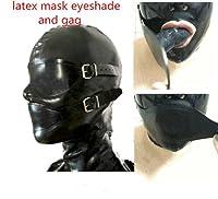 ラテックスゴムの全ケースカバーゴムの換気扇には、アイマスクとGagが付いています。 (S)