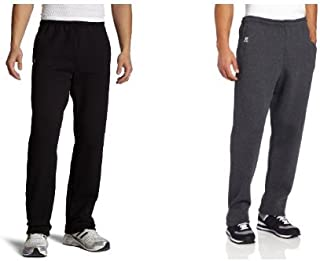Men's Dri-Power Open Bottom Sweatpants with Pockets