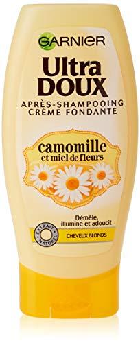 Garnier - Ultra Soft y flor de manzanilla Miel - Rubio acondicionador del pelo, 200 ml