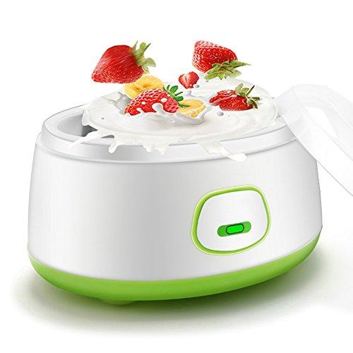 Yogurtera Electrica 220 V 1L Hecho en casa Autom/ático Fabricante de yogur Yogur Crema El/éctrica M/áquina Hacedora de Yogur Herramienta de BRICOLAJE Azul