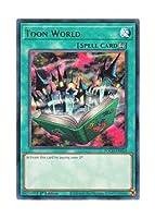 遊戯王 英語版 TOCH-EN054 Toon World トゥーン・ワールド (レア) 1st Edition