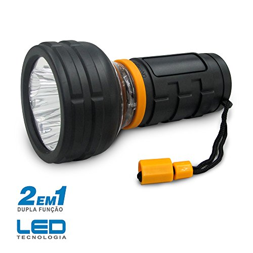 Lanterna Manual LED NG2000 Dupla Funcao - Incasa