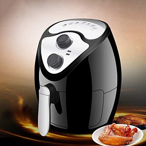 41jRMIBsMPL. SL500  - GAOFQ Luftfritteuse mit schnellem Luftzirkulationssystem und Timer und Einstellbarer Temperaturregelung für gesundes ölfreies oder fettarmes Kochen 1300 W 2,6 Liter Schwarz