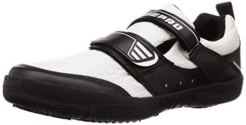 [日進ゴム] 作業靴 ハイパーV#1300屋根プロ2 防滑 断熱 軽量 メンズ 白 24.5 cm 3E