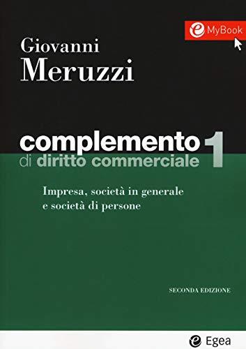 Complemento di diritto commerciale. Con Contenuto digitale per download e accesso on line: 1