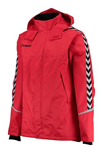 Hummel Herren AUTH. Charge All-Weather JKT Jacke, True Red/Schwarz, S