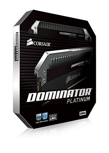 Corsair Dominator Platinum - Módulo de Memoria XMP 2.0 de Alto Rendimiento de 32 GB (2 x 16 GB, DDR4, 3000 MHz, C15)