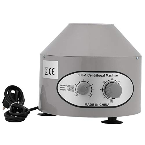 Licuadora de laboratorio eléctrico, mesa centrífuga para laboratorios médicos, 4000 rpm, 6...