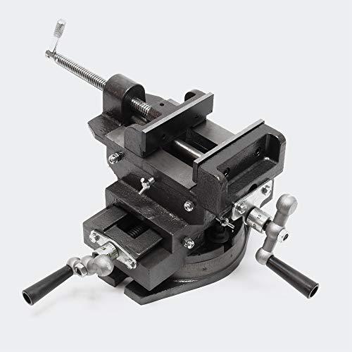 Tornillo banco giratorio 150mm Morsa giratoria banco trabajo Taller Herramientas...