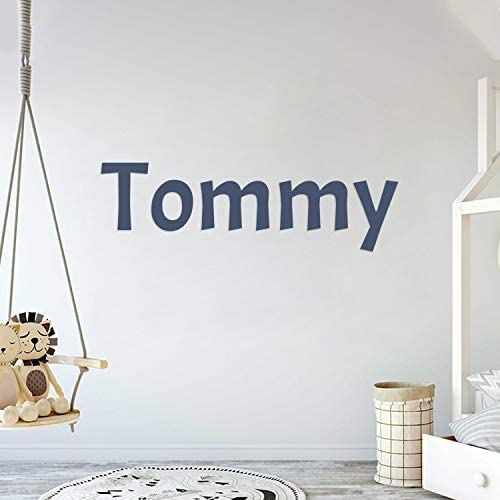 Multiple Font Custom Name Nursery Wall Decal Mural Wall Decal Sticker for Home Children s Bedroom product image