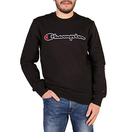 41jRQh73qoL. SS500  - Champion Men's Graphic Sweatshirt, Blue