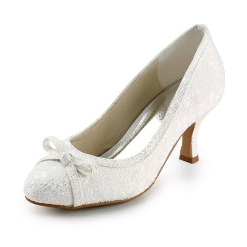 Jia Jia Wedding 586441 Zapatos de Boda Zapatos de Novia Bombas Mujeres...