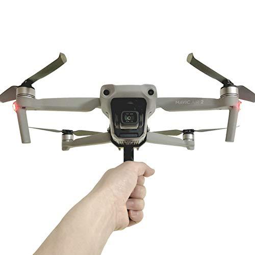 Hooshion Quick Release Handheld Stabilizer Holder for DJI Mavic Air 2 Drone,Handle Landing Gear Mount Long Lens Bracket Grip One Take Handle Tripod Holder Clip