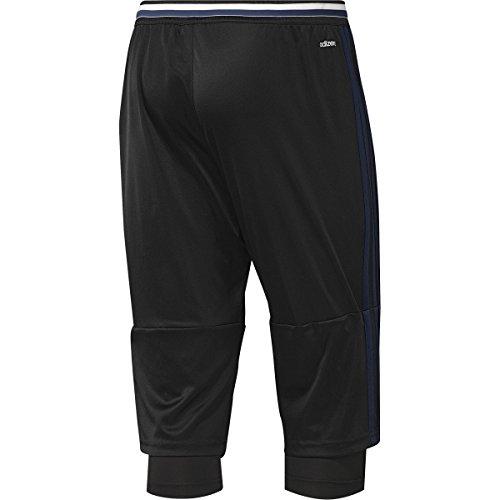 Adidas Manchester United FC Three Quarter Pants-BLACK (S)