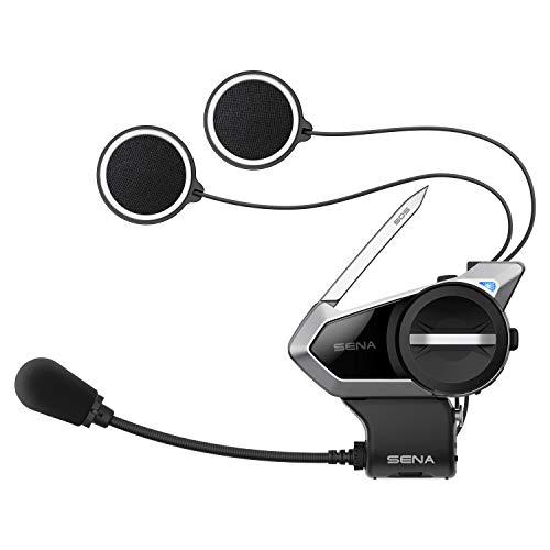 Sena 50S Motorrad Bluetooth Kommunikationssystem mit Mesh 2.0 Intercom - 2