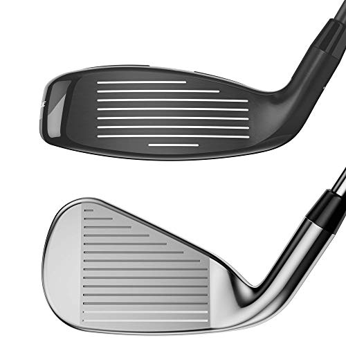 Callaway Golf 2020 Rogue X Irons and Combo Sets (Right Hand , Graphite, Women's, Combo Set: 4 & 5 hybrid, 6-PW irons)