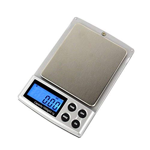 Toprime 600g 0.01g Elite Series Digital Pocket Bilancia grigi
