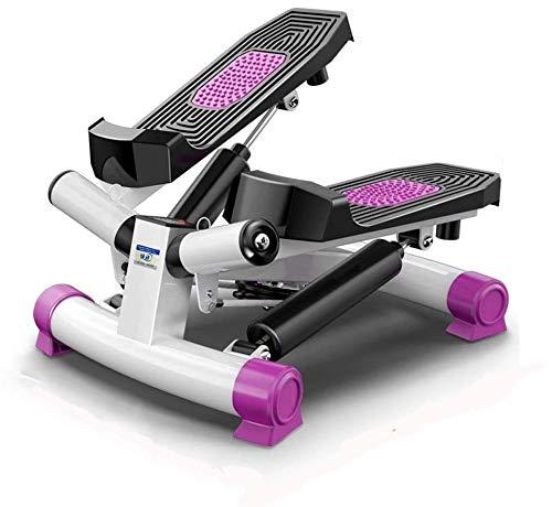 Rindasr voetloopband, pedaal, binnenhuistrainingsapparaat, fitness, twist taille stepper, met weerstandsband en LCD-display, voor buikbeintraining