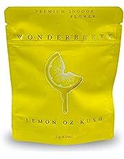 California Wonderplank Mylarbags - LEMON OZ KUSH - lege verpakkingen voor koekjes, snoep, etc. 20 stuks