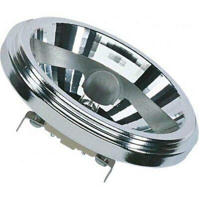 Osram Halospot 111 50W G53 Blanco cálido - Lámpara (50 W, G53, Blanco cálido, 3000 h, G53, Transparente)