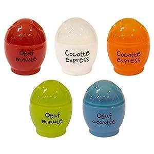 RIERA - Cocedor Huevos Microondas, 1 unidad, colores/modelos surtidos