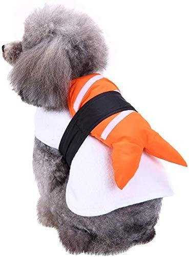 FTVOGUE - Costume da sushi per cucciolo di cane, modello divertente per feste e party