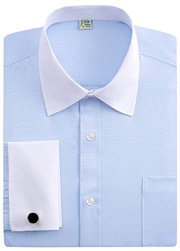 Camisas de vestir para hombre bicolor de J. Ver