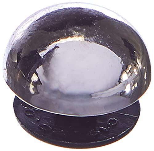 Crocs Silver Dome Stud, Encantos para Zapatos Unisex Adulto, Multicolor, Talla única
