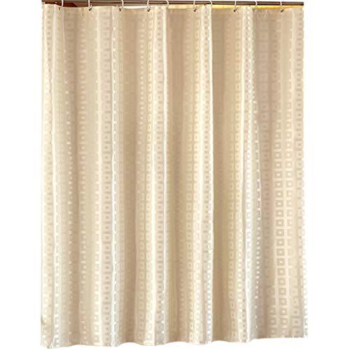 Rideaux de douche Hôtel salle de bains épaisse douche Rideau tissu rideau de douche imperméable à l'eau moisissure rideau rideau (largeur * haute) Rideaux de douche de haute qualité