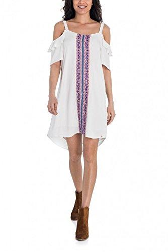 Salsa jurk, met borduurwerk