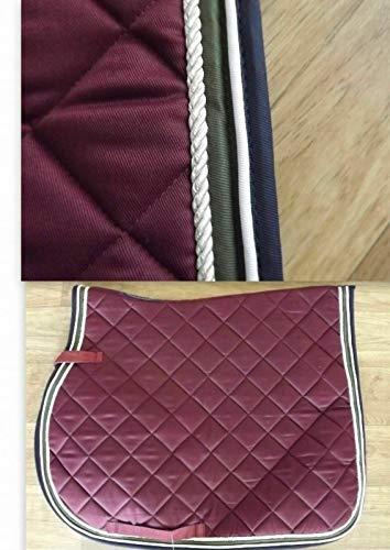 Euroriding Schabracke Farbe Burgundy Dressur DL Dressur