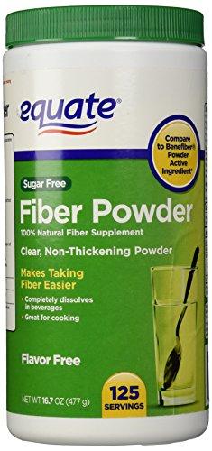 Equate Fiber Powder Clear Soluble - 125 Servings, 16.7 oz (1)