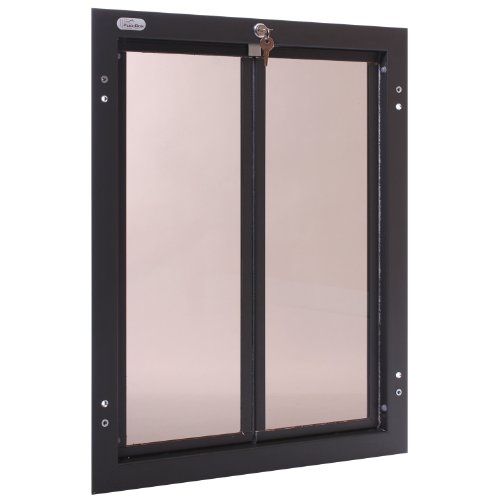 PlexiDor Performance Pet Doors for Dogs and Cats -...