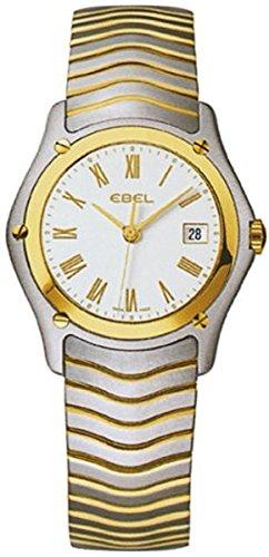 Ebel Classic Damen Uhr analog Schweizer Quarzwerk mit Edelstahl Armband 1257F21