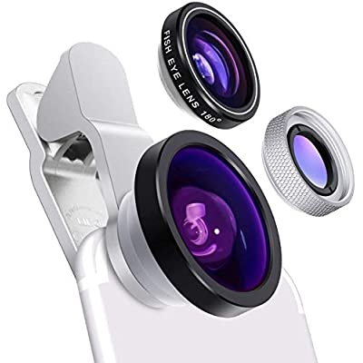 Cell Phone Camera Lens - Yarrashop 3 in 1 HD Cl...