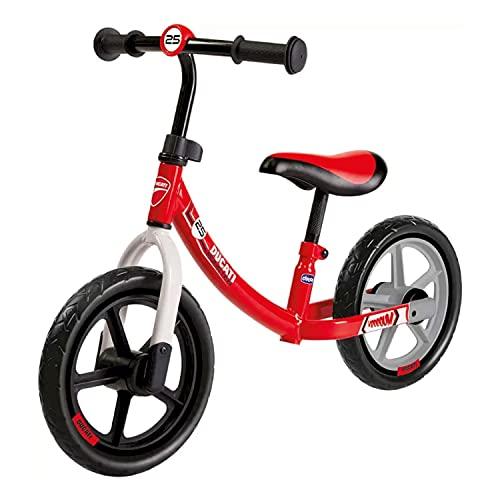 Chicco Ducati Monster Balance Bike, Bicicletta Bambini Senza Pedali per l'Equilibrio, con Manubrio e Sellino Regolabili, Max 25 kg, Rosa,...