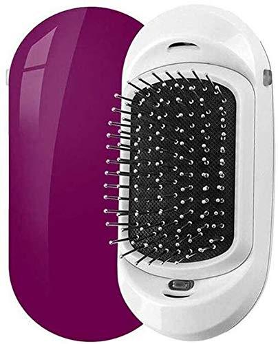 Kombinierte Ionen-Haarbürste, tragbare, elektrische Ionen-Haarbürste, Anti-Frizz & statisch, Haarentwirrer & Kopfhaut-Massagegerät für alle Haartypen