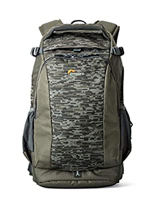 Lowepro LP37128-PWW Flipside 300 AW II Camera Backpack, Fits DSLR with Mounted Lens, 2 Additional Lenses, Compact Drone, 10 Inch Laptop, Mica/Camo