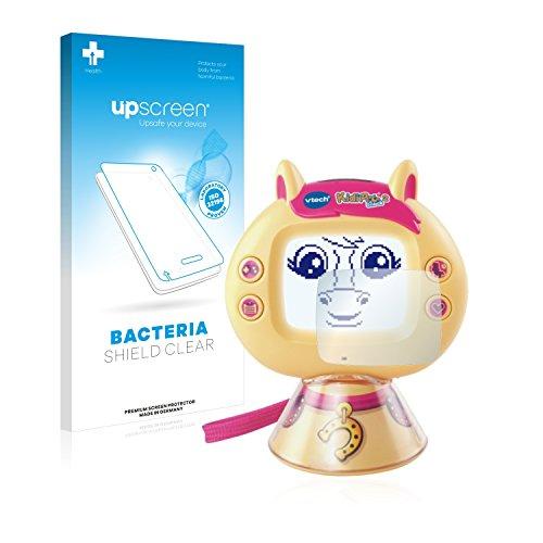 upscreen Protector Pantalla Compatible con Vtech KidiPet Touch 2 (Pony) Película Protectora Antibacteriana
